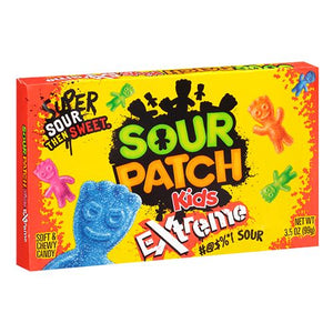 All City Candy Sour Patch Kids Extreme Soft & Chewy Candy - 3.5-oz. Theater Box Theater Boxes Mondelez International 1 Box For fresh candy and great service, visit www.allcitycandy.com