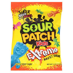 All City Candy Sour Patch Kids Extreme Soft & Chewy Candy - 4-oz. Bag Sour Mondelez International For fresh candy and great service, visit www.allcitycandy.com