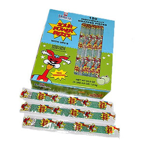 All City Candy Sour Power Green Apple Candy Belts, Wrapped - Case of 150 Sour Dorval Trading For fresh candy and great service, visit www.allcitycandy.com