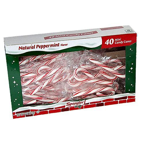 Spangler Mini Wrapped Candy Canes For fresh candy and great service, visit us at www.allcitycandy.com