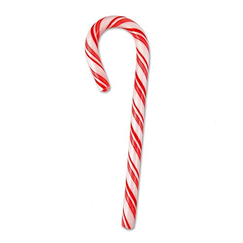 Spangler Red & White Peppermint Candy Canes 1 oz. For fresh candy and great service, visit us at www.allcitycandy.com