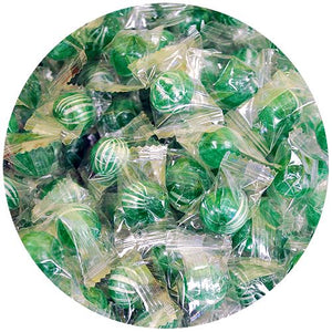 All City Candy Spearmint Balls Hard Candy - 3 LB Bulk Bag Bulk Wrapped Atkinson's Candy For fresh candy and great service, visit www.allcitycandy.com