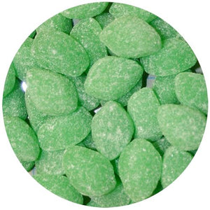 All City Candy Spearmint Leaves Jelly Candy - 3 LB Bulk Bag Bulk Unwrapped Ferrara Candy Company Default Title For fresh candy and great service, visit www.allcitycandy.com
