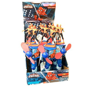 All City Candy Spiderman Fan Candy Toy Novelty Frankford Candy Case of 12 For fresh candy and great service, visit www.allcitycandy.com