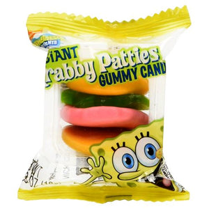 All City Candy SpongeBob SquarePants Giant Krabby Patties Gummy Candy - 36 Piece Case Frankford Candy For fresh candy and great service, visit www.allcitycandy.com