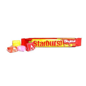 All City Candy Starburst Fruit Chews Original Fruits - 2.07-oz. Bar Chewy Wrigley For fresh candy and great service, visit www.allcitycandy.com