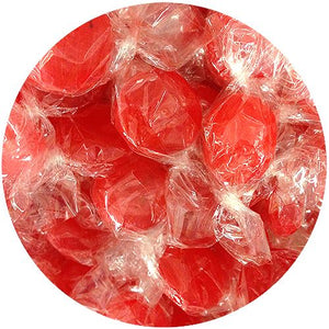 All City Candy Strawberry Buttons Hard Candy - 3 LB Bulk Bag Bulk Wrapped Atkinson's Candy For fresh candy and great service, visit www.allcitycandy.com