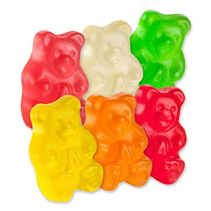 All City Candy Sugar Free Assorted Fruit Gummi Bears - 5 LB Bulk Bag Bulk Unwrapped Albanese Confectionery Default Title For fresh candy and great service, visit www.allcitycandy.com
