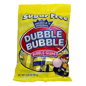All City Candy Sugar Free Dubble Bubble Bubble Gum - 3.25-oz. Bag Gum/Bubble Gum Concord Confections (Tootsie) For fresh candy and great service, visit www.allcitycandy.com