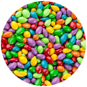 All City Candy Sunbursts Candy Coated Chocolate Covered Sunflower Seeds - 5 LB Bulk Bag Bulk Unwrapped Kimmie Candy Company For fresh candy and great service, visit www.allcitycandy.com