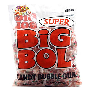 All City Candy Super Big Bol Candy Bubble Gum Gum/Bubble Gum Albert's Candy Bag of 120 For fresh candy and great service, visit www.allcitycandy.com
