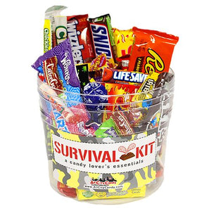All City Candy Survival Kit Candy Gift Bucket Gift All City Candy Default Title For fresh candy and great service, visit www.allcitycandy.com