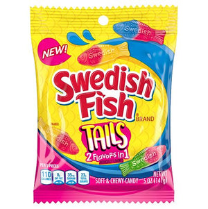 All City Candy Swedish Fish Big Tails Soft & Chewy Candy - 5-oz. Bag Chewy Mondelez International For fresh candy and great service, visit www.allcitycandy.com