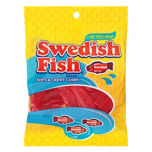All City Candy Swedish Fish Soft & Chewy Candy - 5-oz. Bag Chewy Mondelez International For fresh candy and great service, visit www.allcitycandy.com