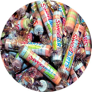 All City Candy SweeTARTS Tangy Candy Twist Rolls - 3 LB Bulk Bag Bulk Wrapped Nestle For fresh candy and great service, visit www.allcitycandy.com