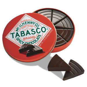 All City Candy Tabasco Brand Spicy Dark Chocolate - 1.75-oz. Tin The Chocolate Traveler Default Title For fresh candy and great service, visit www.allcitycandy.com