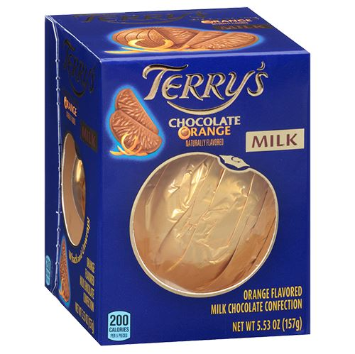 Terry's Milk and Dark Chocolate Oranges