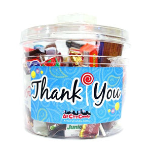 All City Candy Thank You Bucket of Candy All City Candy For fresh candy and great service, visit www.allcitycandy.com