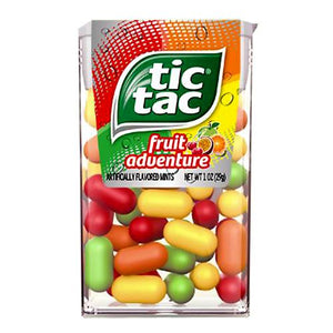 All City Candy Tic Tac Fruit Adventure Mints - 1-oz. Pack Mints Ferrero For fresh candy and great service, visit www.allcitycandy.com