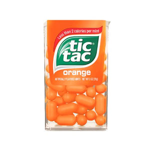 All City Candy Tic Tac Orange Mints - 1-oz. Pack Mints Ferrero 1 Pack For fresh candy and great service, visit www.allcitycandy.com