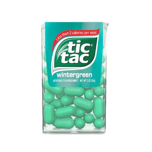 All City Candy Tic Tac Wintergreen Mints - 1-oz. Pack Mints Ferrero 1 Pack For fresh candy and great service, visit www.allcitycandy.com