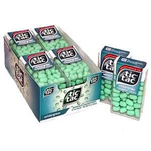 All City Candy Tic Tac Wintergreen Mints - 1-oz. Pack Mints Ferrero Case of 12 For fresh candy and great service, visit www.allcitycandy.com