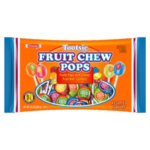All City Candy Tootsie Fruit Chew Pops - 10.2 oz bag Lollipops & Suckers Tootsie Roll Industries Default Title For fresh candy and great service, visit www.allcitycandy.com