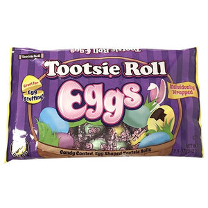 All City Candy Tootsie Roll Eggs Individually Wrapped - 7.5-oz. Bag Easter Tootsie Roll Industries For fresh candy and great service, visit www.allcitycandy.com