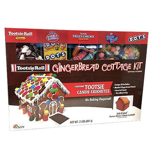 All City Candy Tootsie Roll Gingerbread Cottage Kit Christmas Bee International Candy For fresh candy and great service, visit www.allcitycandy.com