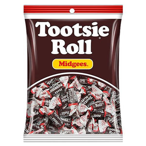 All City Candy Tootsie Roll Midgees - 6.5-oz. Bag Chewy Tootsie Roll Industries For fresh candy and great service, visit www.allcitycandy.com