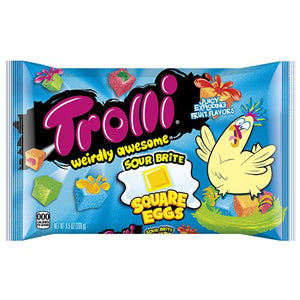 All City Candy Trolli Sour Brite Square Eggs Gummi Candy - 9.5-oz. Bag Easter Trolli (Ferrara) For fresh candy and great service, visit www.allcitycandy.com