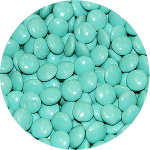 All City Candy Turquoise Milk Chocolate Gems - 3 LB Bulk Bag Bulk Unwrapped Georgia Nut Company For fresh candy and great service, visit www.allcitycandy.com
