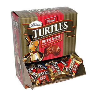 All City Candy Turtles Bite Size Caramel Nut Clusters .42-oz. - 60 Piece Case DeMets Candy Company Default Title For fresh candy and great service, visit www.allcitycandy.com