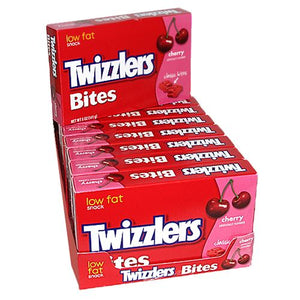 All City Candy Twizzlers Bites Cherry Licorice Candy - 5-oz. Theater Box Theater Boxes Hershey's Case of 12 For fresh candy and great service, visit www.allcitycandy.com