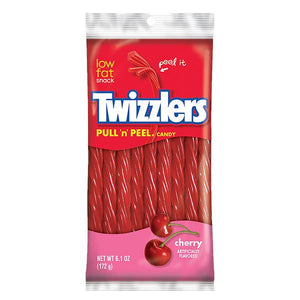 All City Candy Twizzlers Pull 'n' Peel Cherry Licorice Candy - 6.1-oz. Bag Licorice Hershey's For fresh candy and great service, visit www.allcitycandy.com