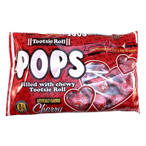 All City Candy Valentine Tootsie Pops - 9.6-oz. Bag Valentine's Day Tootsie Roll Industries For fresh candy and great service, visit www.allcitycandy.com