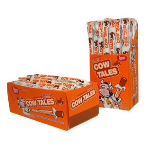 All City Candy Vanilla Cow Tales Chewy Caramel Stick 1 oz. - Case of 36 Caramel Candy Goetze's Candy Default Title For fresh candy and great service, visit www.allcitycandy.com