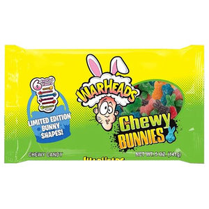 All City Candy WarHeads Chewy Bunnies Chewy Candy - 5-oz. Bag Easter Impact Confections For fresh candy and great service, visit www.allcitycandy.com