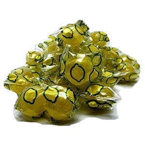 All City Candy Washburn's Sour Lemon Balls Hard Candy - 3 LB Bulk Bag Bulk Wrapped Washburn Candy For fresh candy and great service, visit www.allcitycandy.com