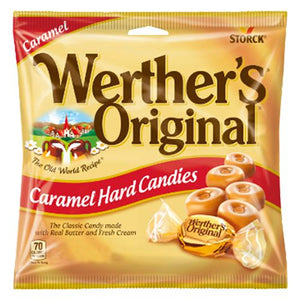 All City Candy Werther's Original Caramel Hard Candies - 2.65-oz. Bag Hard Storck For fresh candy and great service, visit www.allcitycandy.com
