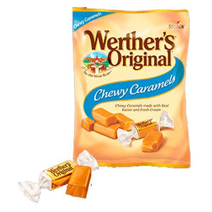 All City Candy Werther's Original Chewy Caramels 2.4 oz bag Storck Default Title For fresh candy and great service, visit www.allcitycandy.com