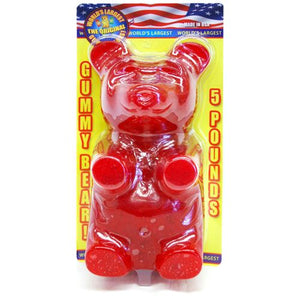 All City Candy World's Largest Cherry Gummy Bear - 5 LB Gummi Giant Gummy Bears For fresh candy and great service, visit www.allcitycandy.com