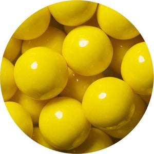 All City Candy Yellow 1-Inch Gumballs - 2 LB Bulk Bag Bulk Unwrapped SweetWorks Default Title For fresh candy and great service, visit www.allcitycandy.com