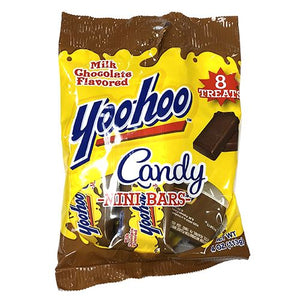 All City Candy Yoo-hoo Milk Chocolate Flavored Mini Candy Bars - 4-oz. Bag Candy Bars R.M. Palmer Company For fresh candy and great service, visit www.allcitycandy.com