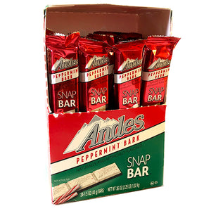 Andes Peppermint Bark Snap Bar 1.5 oz.