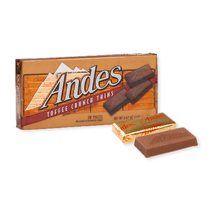 Andes Toffee Crunch Thins - 4.67-oz. Box