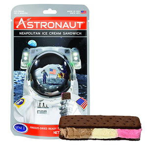Astronaut Freeze-Dried Neapolitan Ice Cream Sandwich 1 oz.