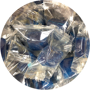 Atkinson's Blue Peppermint Cubes Hard Candy - 3 LB Bulk Bag
