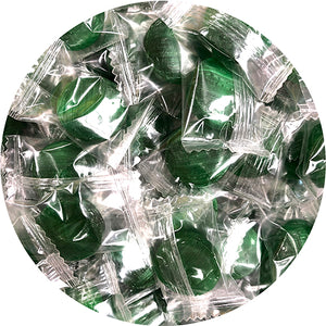 Atkinson's Green Apple Buttons Hard Candy - 3 LB Bulk Bag