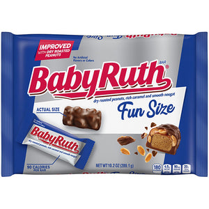 Baby Ruth Fun Size Candy Bars - 10.2-oz. Bag